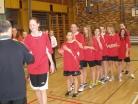 Březen 2016 - Okresní kolo basketbalu v Českých Budějovicích
