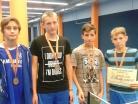 Říjen 2015 – okresní kolo soutěže ve stolním tenisu, chlapci