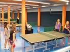 Říjen 2015 – okresní kolo soutěže ve stolním tenisu, dívky