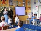 Březen 2016 - pasování žáků 1.B na čtenáře