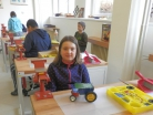 Březen 2016 - práce se stavebnicemi Merkur ve školní dílně