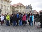 Březen 2016 - exkurze žáků 8. a 9. tříd v Poslanecké sněmovně a na Pražském hradě