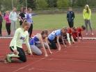 Květen 2016 – Atletický čtyřboj v Českých Budějovicích