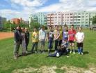 Květen 2017 - školní družina, fotbalové utkání Hlinky - Temelín