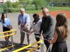 Květen 2017 – slavnostní otevření bezbariérového vstupu do školy