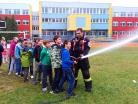 Říjen 2017 – ukázka hasičské techniky pro děti ve školní družině