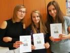 Říjen 2017 – vítězky školního kola soutěže Mladý chemik