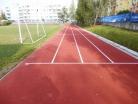 Rekonstrukce běžecké dráhy