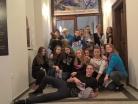 Prosinec 2018 – exkurze žáků 9.A na výstavě v Jihočeském muzeu