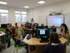 Prosinec 2018 – Slavnostní ukončení projektu IROP, otevření jazykové učebny