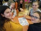 Listopad 2019 – komiksový workshop pro žáky 6. tříd v městské knihovně