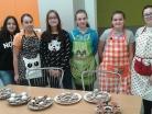 Listopad 2019 – pečení adventních věnců ve školní cvičné kuchyni