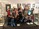 Prosinec 2019 – děti ze školní družiny na výstavě v městském muzeu
